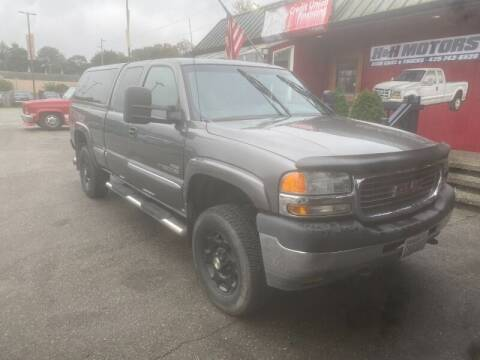2001 GMC Sierra 2500HD for sale at MILLENNIUM MOTORS INC in Monroe WA