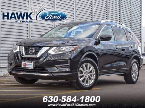 2018 Nissan Rogue for sale at Hawk Ford of St. Charles in Saint Charles IL