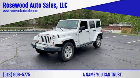 2012 Jeep Wrangler Unlimited for sale at Rosewood Auto Sales, LLC in Hamilton OH