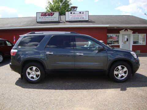 2011 GMC Acadia for sale at G and G AUTO SALES in Merrill WI