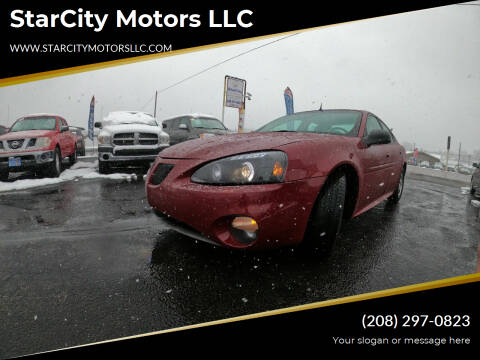 2005 Pontiac Grand Prix for sale at StarCity Motors LLC in Garden City ID