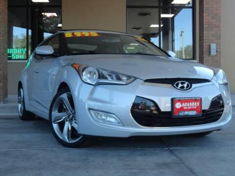 2012 Hyundai Veloster for sale at Arandas Auto Sales in Milwaukee WI