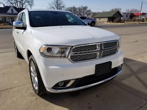 2020 Dodge Durango for sale at Faw Motor Co in Cambridge NE