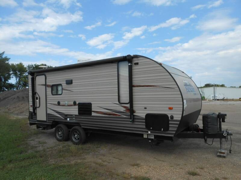 2017 Forest River Patriot Edition Toy Hauler for sale at Salmon Automotive Inc. in Tracy MN