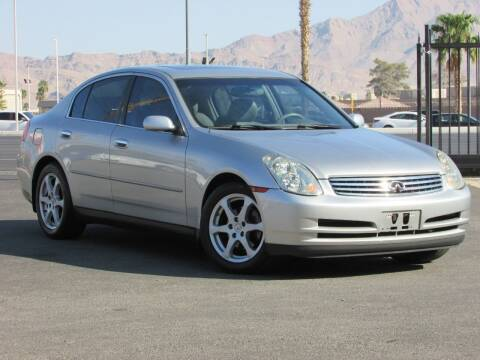2004 Infiniti G35 for sale at Best Auto Buy in Las Vegas NV