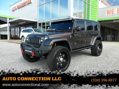 2016 Jeep Wrangler Unlimited for sale at AUTO CONNECTION LLC in Montgomery AL