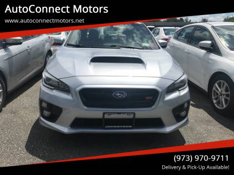 2017 Subaru WRX for sale at AutoConnect Motors in Kenvil NJ