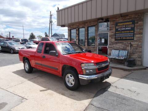 2008 Chevrolet Colorado for sale at Preferred Motor Cars of New Jersey in Keyport NJ