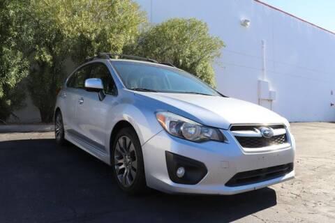 2014 Subaru Impreza for sale at Liberty Cars and Trucks in Phoenix AZ