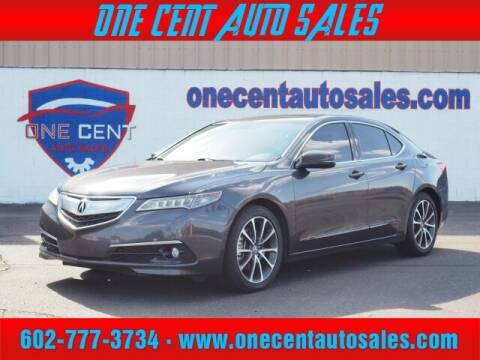 2015 Acura TLX for sale at One Cent Auto Sales in Glendale AZ