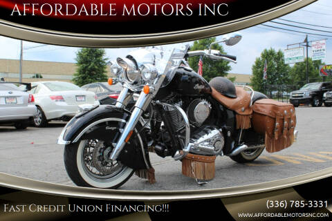 2017 Indian Chief for sale at AFFORDABLE MOTORS INC in Winston Salem NC