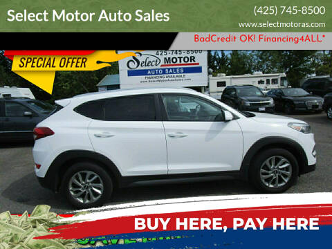 2016 Hyundai Tucson for sale at Select Motor Auto Sales in Lynnwood WA