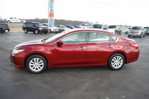 2017 Nissan Altima for sale at Bryan Auto Depot in Bryan OH