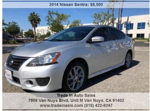 2014 Nissan Sentra for sale at Trade In Auto Sales in Van Nuys CA