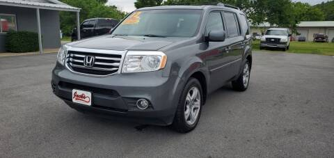2012 Honda Pilot for sale at Jacks Auto Sales in Mountain Home AR