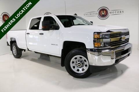 2018 Chevrolet Silverado 3500HD for sale at Unlimited Motors in Fishers IN
