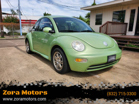 2005 Volkswagen New Beetle for sale at Zora Motors in Houston TX