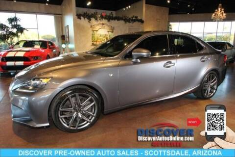 2015 Lexus IS 350 for sale at Discover Pre-Owned Auto Sales in Scottsdale AZ