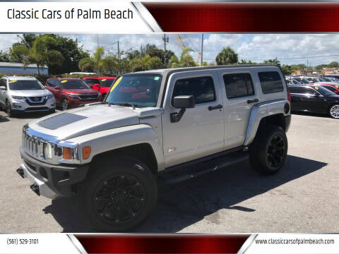 2008 HUMMER H3 for sale at Classic Cars of Palm Beach in Jupiter FL