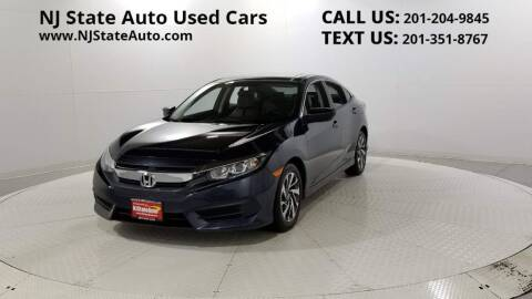 2017 Honda Civic for sale at NJ State Auto Auction in Jersey City NJ