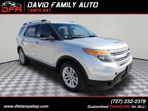 2013 Ford Explorer for sale at David Family Auto, Inc. in New Port Richey FL