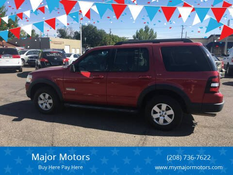 2007 Ford Explorer for sale at Major Motors in Twin Falls ID