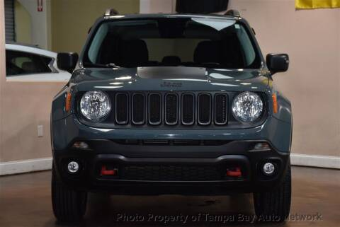 2017 Jeep Renegade for sale at Tampa Bay AutoNetwork in Tampa FL