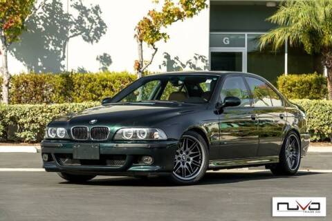 2003 BMW M5 for sale at Nuvo Trade in Newport Beach CA