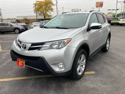 2014 Toyota RAV4 for sale at RABIDEAU'S AUTO MART in Green Bay WI
