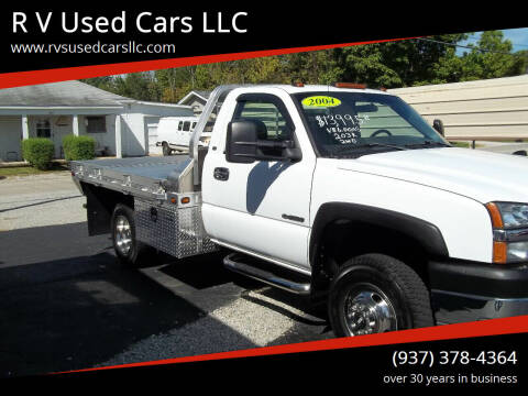2004 Chevrolet Silverado 3500 for sale at R V Used Cars LLC in Georgetown OH
