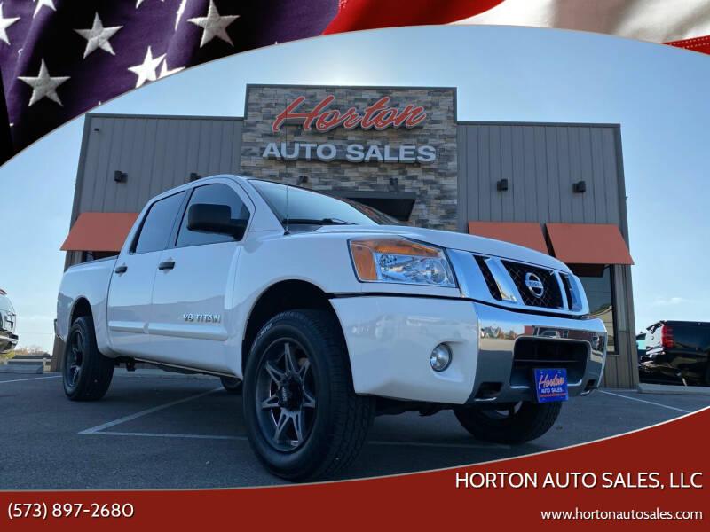2011 Nissan Titan for sale at HORTON AUTO SALES, LLC in Linn MO