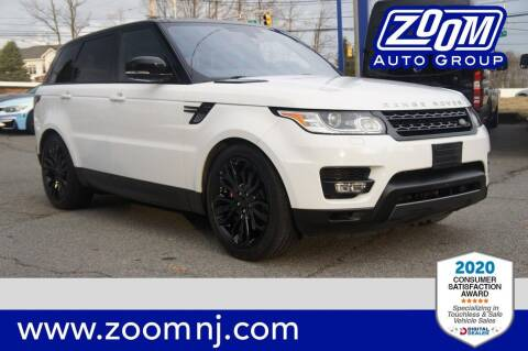 2016 Land Rover Range Rover Sport for sale at Zoom Auto Group in Parsippany NJ