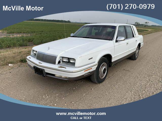 1992 Chrysler New Yorker for sale in Mcville, ND