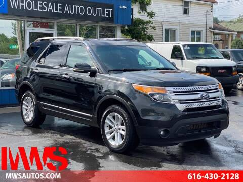 2012 Ford Explorer for sale at MWS Wholesale  Auto Outlet in Grand Rapids MI