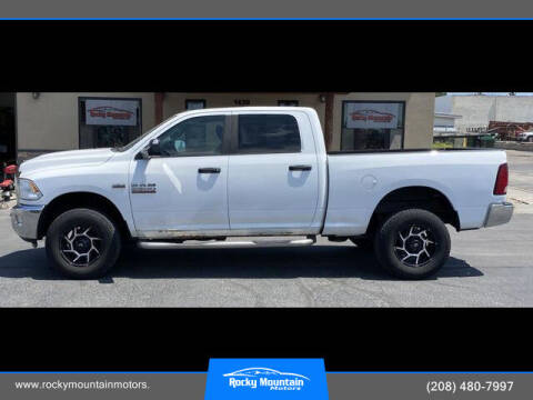 2014 RAM Ram Pickup 2500 for sale at Rocky Mountain Motors in Idaho Falls ID
