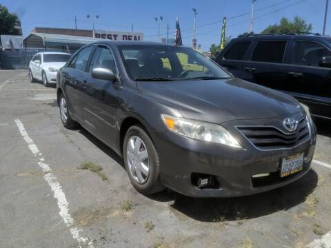 2011 Toyota Camry for sale at Best Deal Auto Sales in Stockton CA