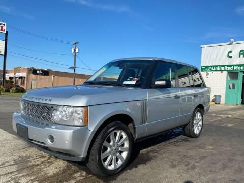 2008 Land Rover Range Rover for sale at MFT Auction in Lodi NJ