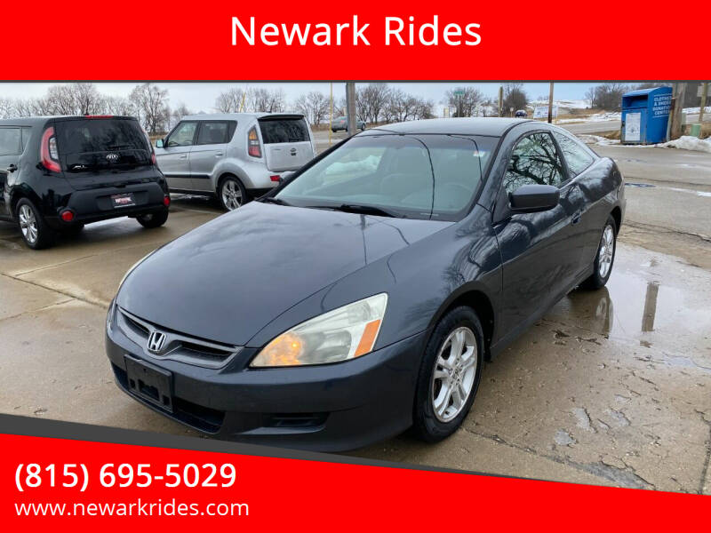 2006 Honda Accord for sale at Newark Rides in Newark IL