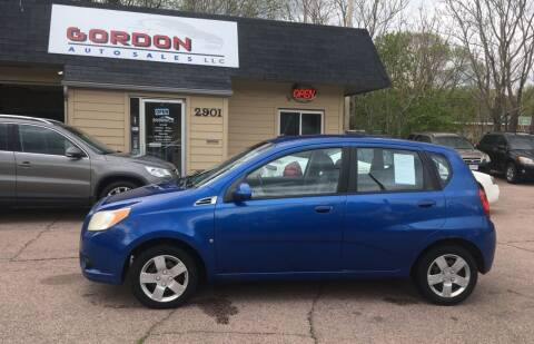 2009 Chevrolet Aveo for sale at Gordon Auto Sales LLC in Sioux City IA