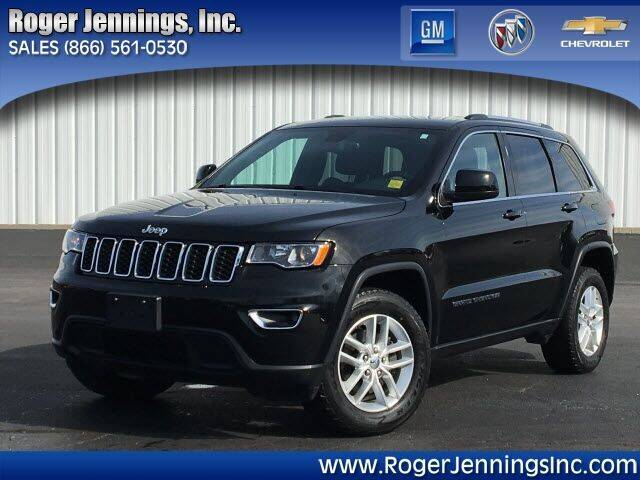 2017 Jeep Grand Cherokee for sale at ROGER JENNINGS INC in Hillsboro IL