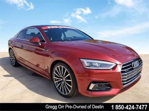 2018 Audi A5 for sale at Gregg Orr Pre-Owned of Destin in Destin FL