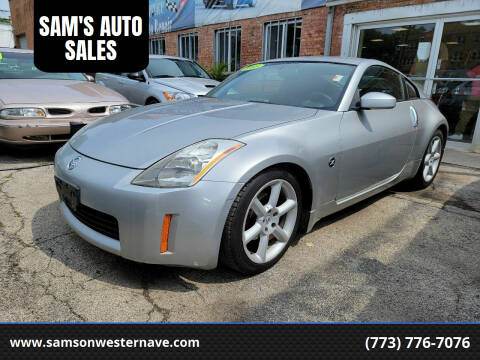 2005 Nissan 350Z for sale at SAM'S AUTO SALES in Chicago IL