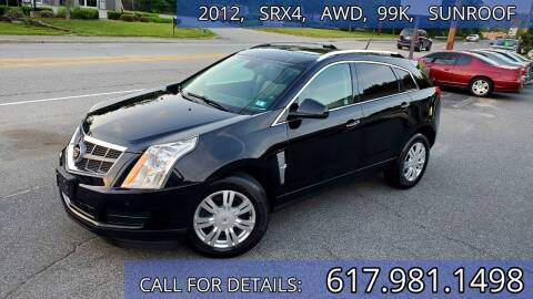 2012 Cadillac SRX for sale at Wheeler Dealer Inc. in Acton MA