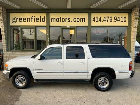 2001 GMC Yukon XL for sale at GREENFIELD MOTORS in Milwaukee WI