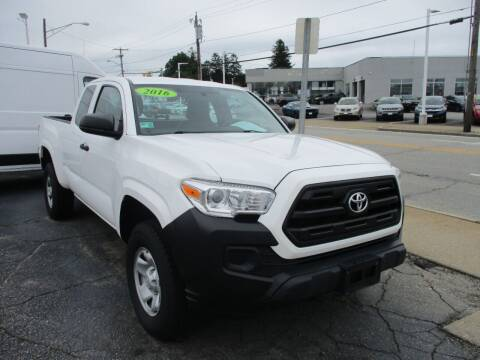 2016 Toyota Tacoma for sale at AUTO FACTORY INC in East Providence RI