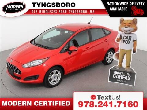 2015 Ford Fiesta for sale at Modern Auto Sales in Tyngsboro MA