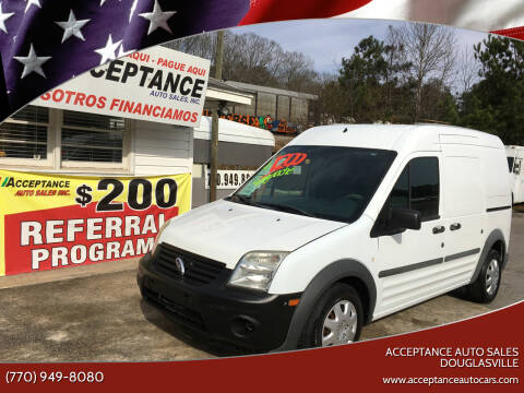 2012 Ford Transit Connect for sale at Acceptance Auto Sales Douglasville in Douglasville GA