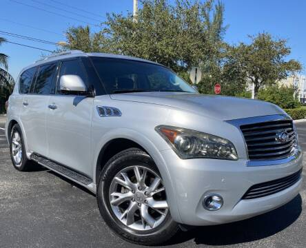 2011 Infiniti QX56 for sale at Maxicars Auto Sales in West Park FL
