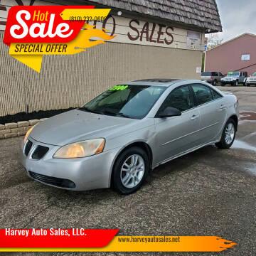 2006 Pontiac G6 for sale at Harvey Auto Sales, LLC. in Flint MI
