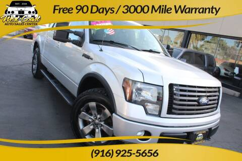 2011 Ford F-150 for sale at West Coast Auto Sales Center in Sacramento CA